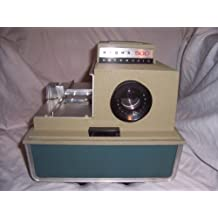 Vintage Automatic Slide Projector Argus 500 Model 58 Circa 1955