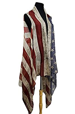 Simply Savvy Co Stylish Vintage Lightweight Shawl Cover Up for Women
