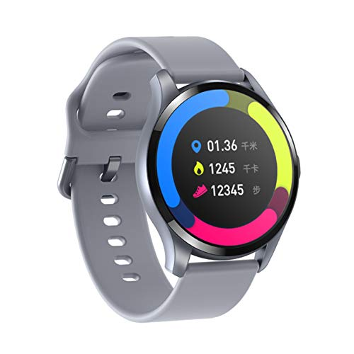 Smartwatch, High-Definition Kleurenscherm, Temperatuur- En Gezondheidsmonitoring, Bluetooth-Waterdichte Horloge Met…