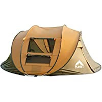 ZUMIT Tent Camping 3-4 Person Instant Pop Up Waterproof...