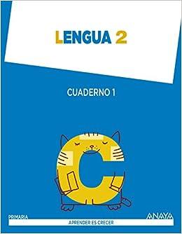 Aprender es Crecer, lengua, 2 Educación Primaria. Cuaderno 1: Anaya Educación: 9788467873962: Amazon.com: Books