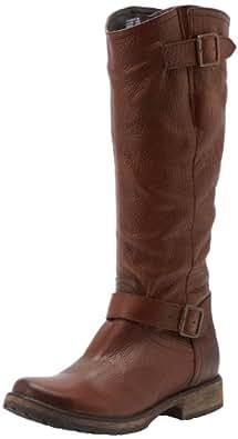 Steve Madden Women's Fairmont Knee-High Boot,Brown Leather,5.5 M US