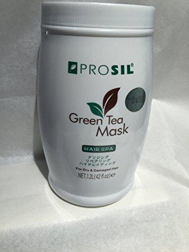 Green Tea Mask for DRY & Damage Hair ( 42floz)