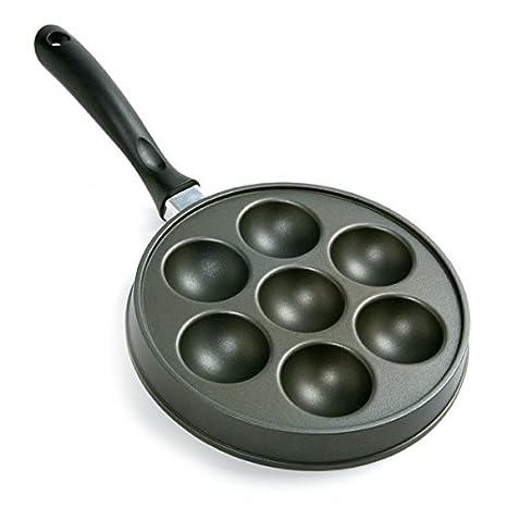 Norpro Nonstick Stuffed Pancake Pan Munk Aebleskiver Ebelskiver