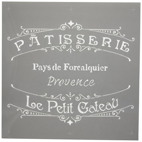 Deco Art Americana Decor Stencil, The French Bakery (Vintage French)