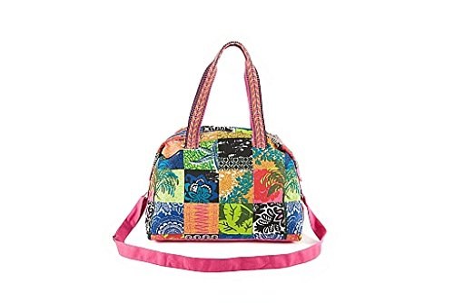 """PE Florence Weekender Borsa """"Tropical Patchwork (6350001), nuovo"""