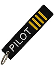 SOLDOUT™ Synthetic Aviation Key Chain for Flight Crew | Pilot | Cabin Crew (Pilot)