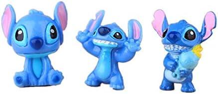 12pcs set Cute  Action Figures Toy Mini Lilo /& Stitch Figure PVC Doll Toys