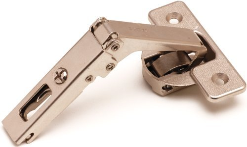 (Salice Pie-Cut Corner Hinge - Self Closing - Screw On Hinge)