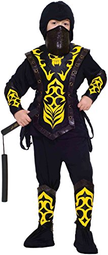 Samurai Deluxe Costumes (Forum Novelties Deluxe Ninja Master Child Costume, Small)