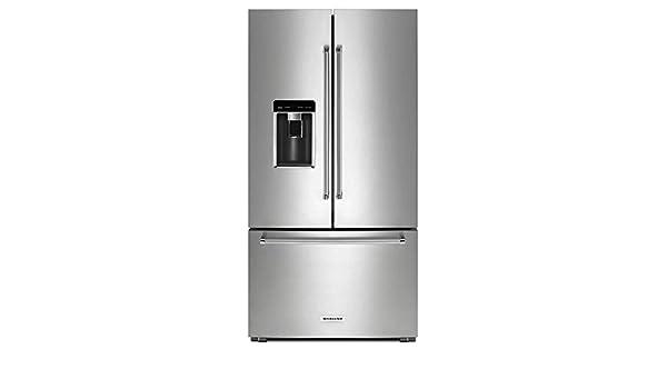 Kitchenaid counter depth french door refrigerator stainless steel