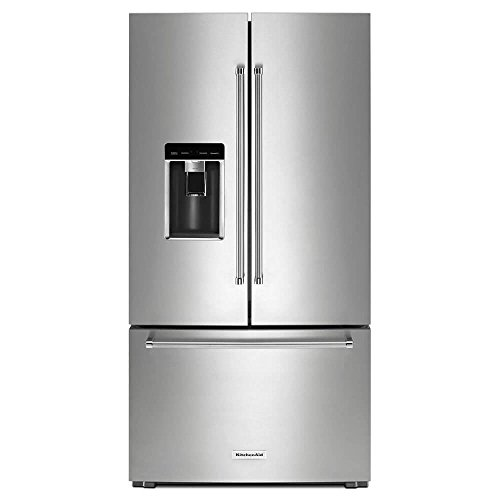 Kitchen Aid KRFC704FPS | KRFC704FPS 23.8 Cu. Ft. Stainless French Door Counter-Depth Refrigerator