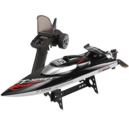 DDLmax FT012 2.4G High Speed Radio Remote Control RC 50km/h Century Racing Speed - Racing Cyclone Speed Boat