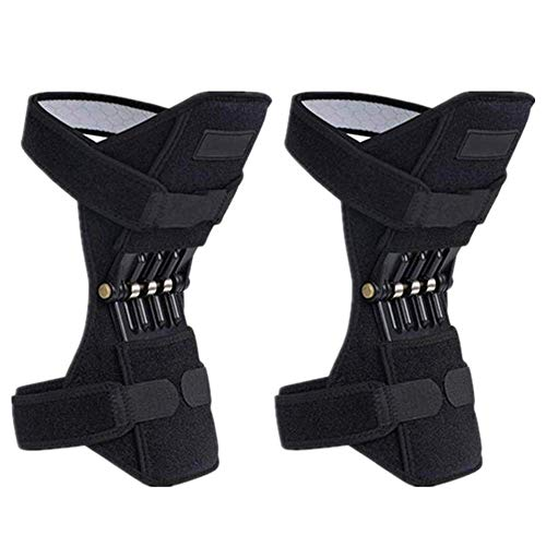 Lift Air Tables - 1 Pair Joint Support Knee Pads, Knee Patella Strap, Power Lift Spring Force, Tendon Brace Band Pad for Arthritis Tendonitis Gym, for Joint Pain Relief, Arthritis Injury Recovery, Sprains, Meniscus