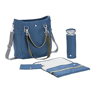 Lassig Women's Green Label Mix 'n Match Baby Diaper Bag, Blue Ocean