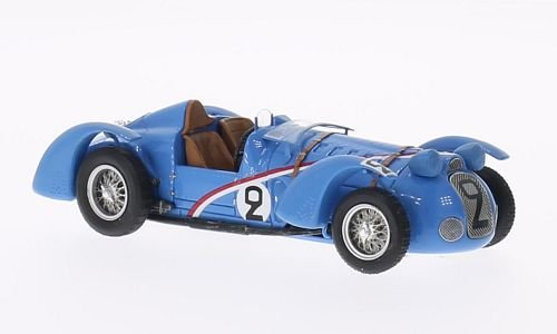 delahaye-145-no2-24h-le-mans-1938-model-car-ready-made-spark-143