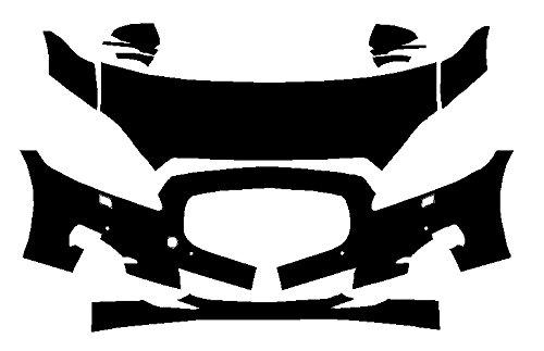 Jaguar XJL Base (2011-2015) 3M Scotchgard PRO Series Paint Protection Film Kit by Clear Defender