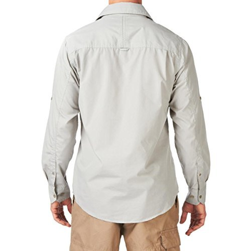 Craghoppers Men's Kiwi Long-Sleeved Shirt, Sodium