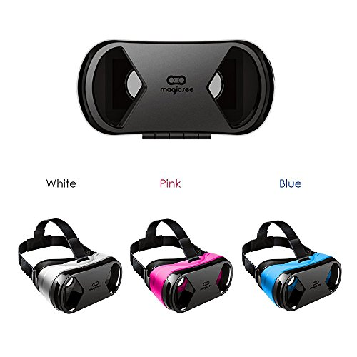 Magicsee G1 Virtual Reality Headset 3D VR Glasses for iPhone 6/6 plus 4.7-6.0 inch, Android Samsung Galaxy S5/S6/S6 edge Google Moto Smartphone Windows Phones