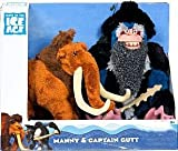 ice age manny plush - TPF Toys Ice Age Continental Drift Movie Plush 2Pack Manny Captain Gutt