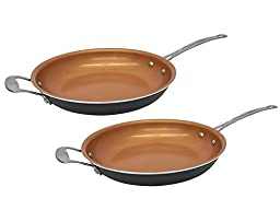 Gotham Steel 1716 Non-stick Titanium Frying Pan, 12.5\