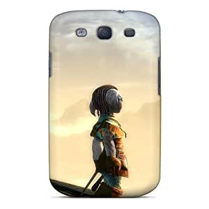 Awesome Guild Wars 2 Beauty Flip Case With Fashion Design For Galaxy S3