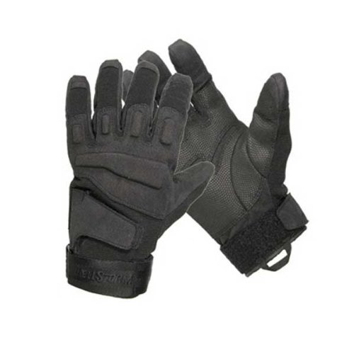 Blackhawk Men's Black S.O.L.A.G. Special Ops Full Finger Light Assault Glove (Black, Medium)