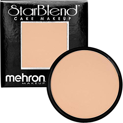 Mehron Makeup StarBlend Cake (2 Ounce) (Soft