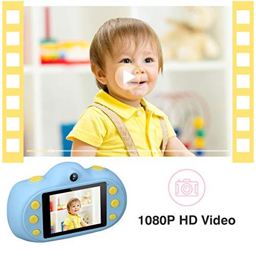 Digital Camera for Kids 2 Inch HD Kids Digital Video Gift Camera 1080P with LCD Display for Boys Girls (Dark Blue)