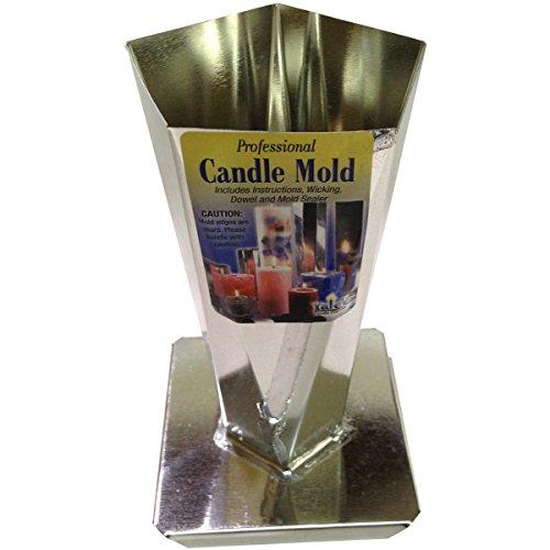 Yaley Professional Metal Candle Mold-Pentagon Obli big image