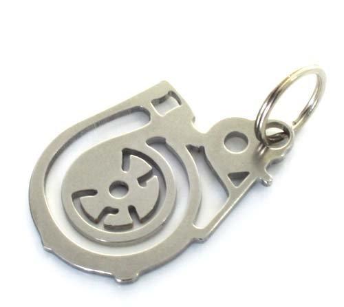 Turbolader Schlüsselanhänger aus Edelstahl - Tuning Turbo Syncro - DUB: Amazon.es: Coche y moto