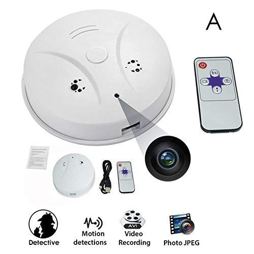Lincong Detector Mini Cámara Espía Cámara de Vigilancia Oculta HD 1080P Seguridad Interior con Detector de Movimiento y Control WIFI: Amazon.es: Bricolaje y ...