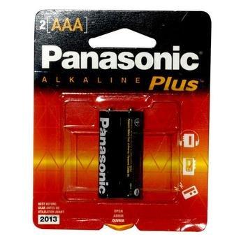 Alkaline batteries AAA Panasonic LR6T 2