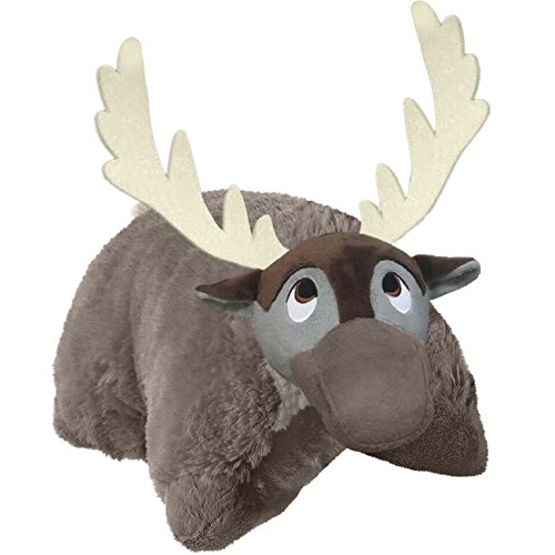 "Pillow Pets Disney Frozen, Sven, 16"" Stuffed Animal Plush"
