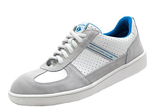 Schürr Safety Sneaker One scarpe di sicurezza con acciaio Kapp in Sneaker effetto Weiß-Blau 45