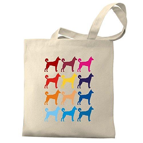 Eddany Colorful Canaan Dog Bereich für Taschen