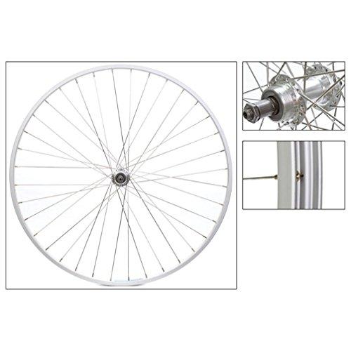 Wheel Master Rear Wheel 700 x 25, WEI AS23 x , QR Alloy FW 5-7sp Silver Hub, 14g SS Spokes, 36H - Nmsw Rim