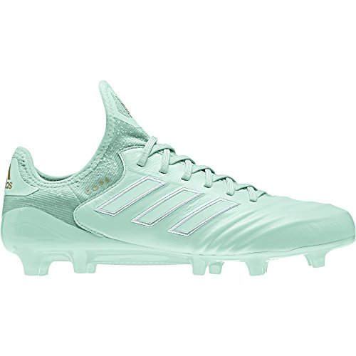 m Ground Cleat Men's Soccer 10 Clear Mint-Gold Metallic ()
