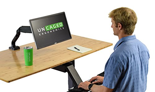 Swivel LCD Monitor Arm w/Unversal Mount. Height, Computer + Gas 2 Ports