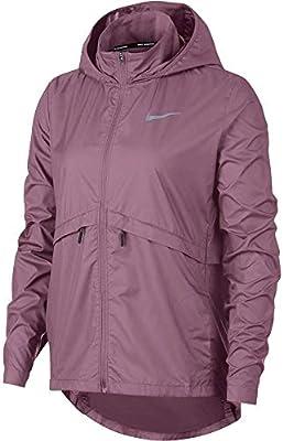 Nike Womens Essential Jacket Plum DustReflective Silv