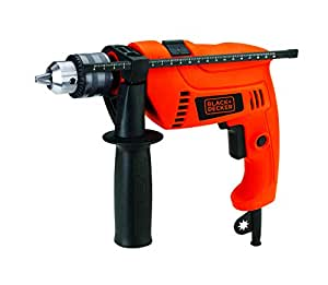 Black & Decker 650W 13mm Hammer Drill with Variable Speed & Reverse Switch, HD650-B5
