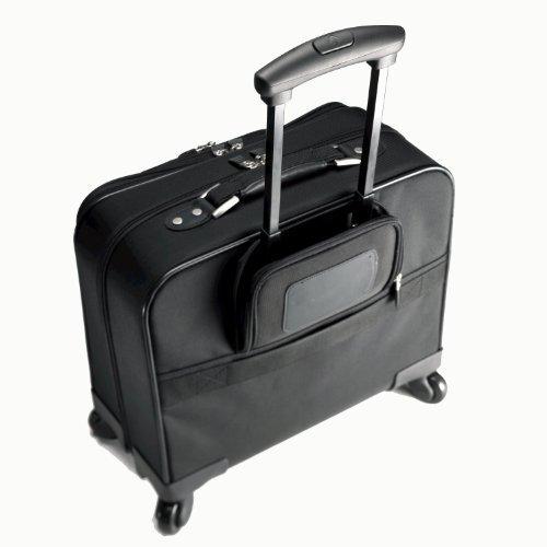 Samsonite 10392 Spinner Mobile Office Wheeled Briefcase (Black)