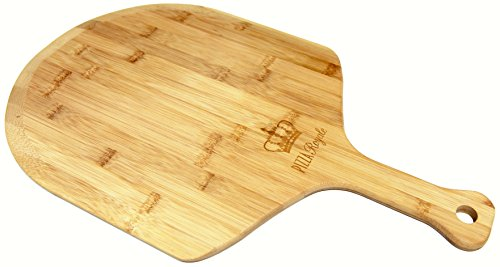 Pizza Royale Ethically Sourced Premium Natural Bamboo Pizza Peel, 19.6 Inch x 12 - Shovel Pizza
