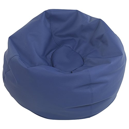 ECR4Kids Standard Classic Bean Bag, Navy (35