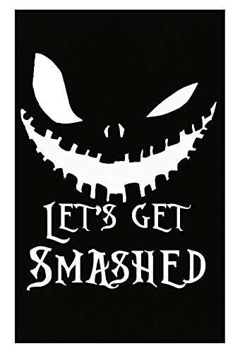 VONC Lets Get Smashed Pumpkin Halloween Party Smashing Pumpkins - Poster -