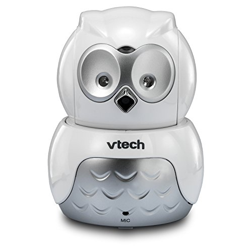 VTech VM344 Owl Video Baby Monitor with Automatic Infrared Night Vision, Pan/Tilt & Zoom, Temperature Sensor & 1,000 feet of Range