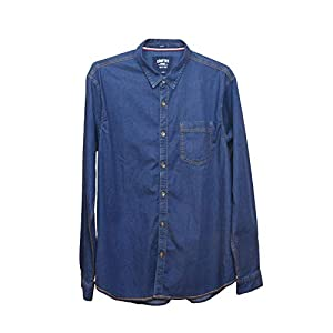 Comfort Denim Outfitters Men's Casual Denim Shirt