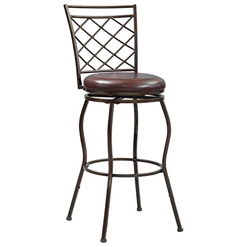 (Pulaski  360 Swivel, Extending Legs Barstool, 24