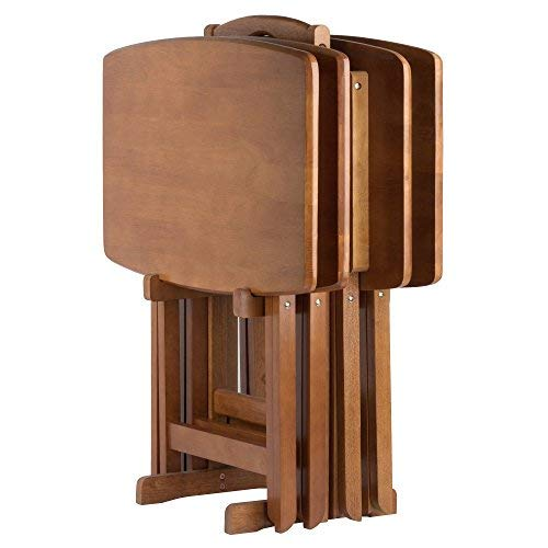 Winsome Wood 33517-WW Dylan Snack Table - Set Stand Tv