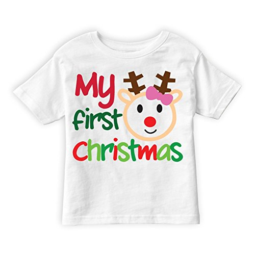 PicOnTshirt Winter Christmas T-shirts Collection Design 50 for Girls Size 8-9 Kobe Christmas 8 Shirt